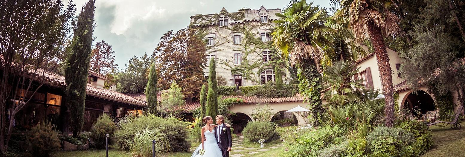 Château de Riell // CHRISTELLE + LUCAS MARIAGE