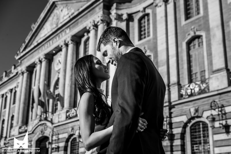 Engagement Couple Toulouse