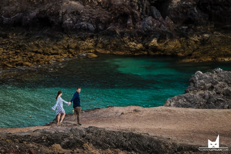 Engagement Couple Lanzarote