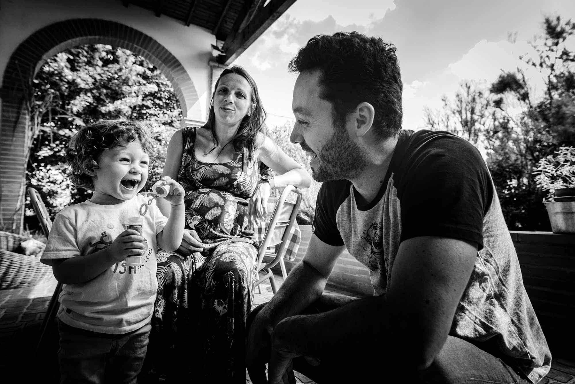 photo de famille à Toulouse